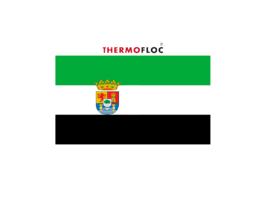 aislamientos térmicos insuflados y proyectados en Extremadura