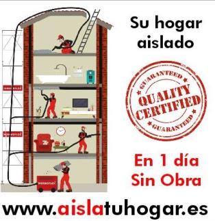 aislamientos de suelos, paredes,techos, naves en barcelona