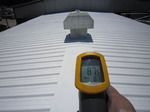 aislamiento térmico con pintura térmica en nave industrial